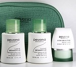 Pevonia Dry Skin Travel Kit Cleanser Lotion Cream