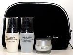 Pevonia Myoxy Caviar Luxuries Kit Cleanser Lotion Cream