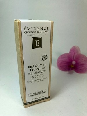 Eminence Red Currant Protective Moisturizer spf 30 Sunscreen 15ml/ 0.5oz travel