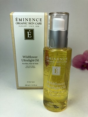 Eminence Wildflower Ultralight Oil for skin hair and nails 100ml/3.3oz Brand New
