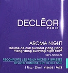 Decleor Aromessence Ylang Night Balm 1oz(30ml) Oily Combination Skin