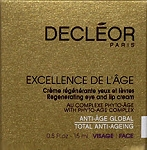 Decleor Excellence De L'Age Regenerating Eye Lip 15ml(0.5oz) Cream