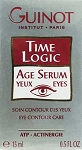 Guinot Time Logic Age Serum Yeux Eye Contour Atp 15ml(0.5oz) Actinergie