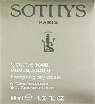 Sothys Energizing Day Cream With Eleutherococcus 1.69oz(50ml)